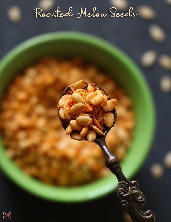 recette de graines de melon grillées