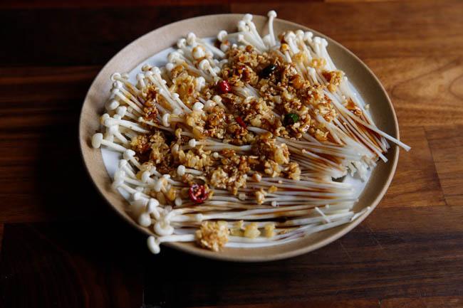 champignons cuits à la vapeur | chinasichuanfood.com