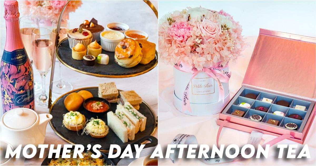 Thé de l'après-midi de la fête des mères à la marmelade Pantry