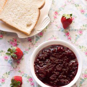 recette de confiture de fraises