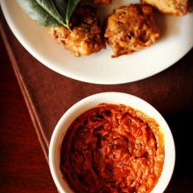 recette de chutney de tomates, chutney de tomates, chutney de tomates pour dosa idli
