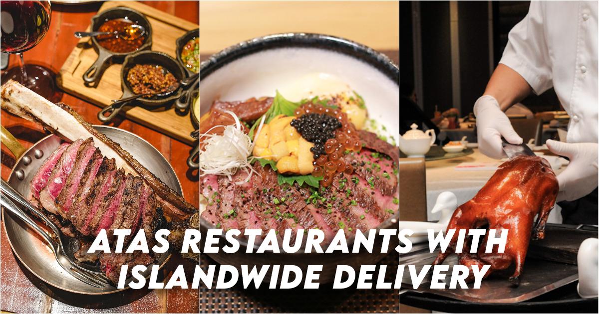 Restaurants Atas avec livraison sur toute l'île
