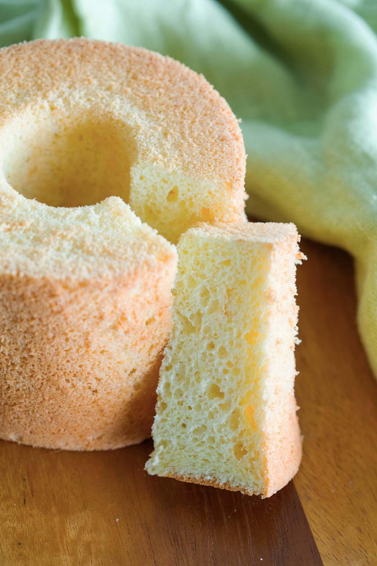 Gâteau mousseline à l'orange maison facile.