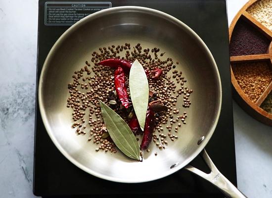 Recette de poudre de Pulao masala ajouter des épices