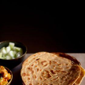 recette de lachha paratha