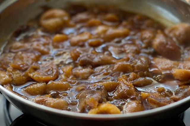 abricots de cuisine