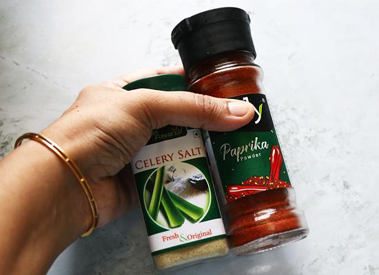 sel de céleri et paprika