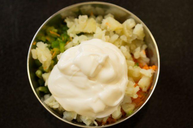 mayonnaise ajoutée
