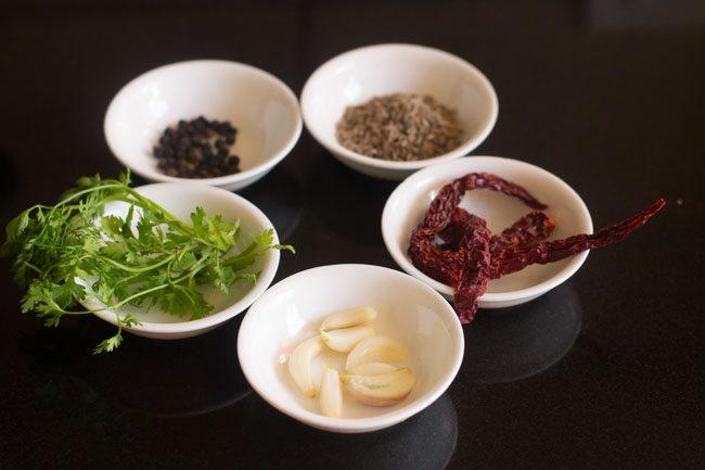 ingrédients pour faire rasam tamarin