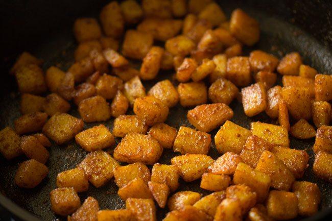 frites de pommes de terre sautées