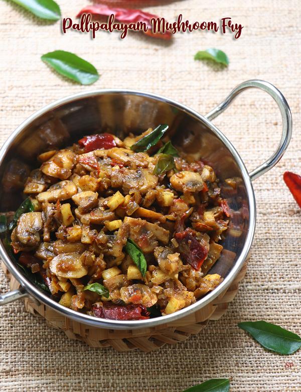 Friture de champignons pallipalayam