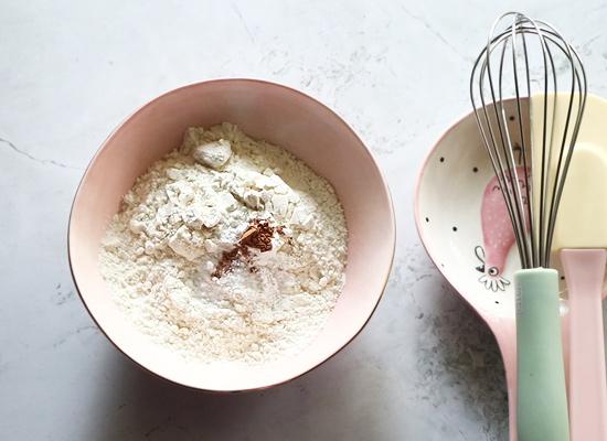 recette de gâteau aux carottes ingrédients secs
