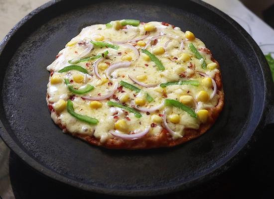 pizza roti prête