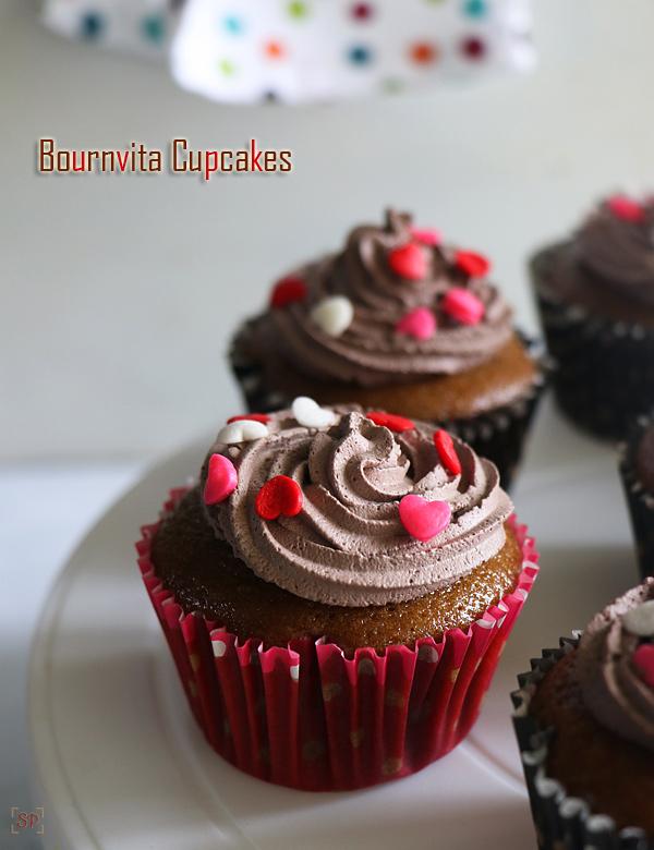 Recette de cupcakes Bournvita sans œufs