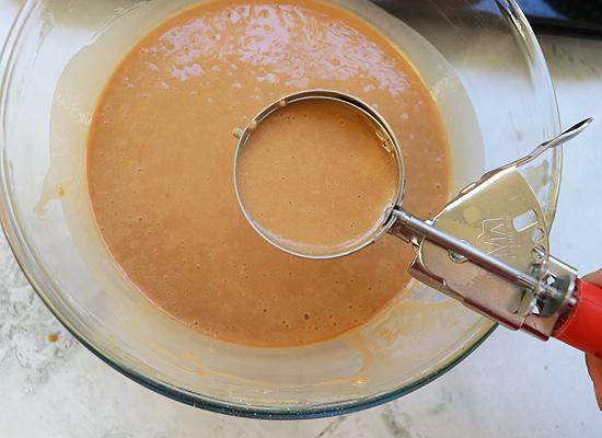 retirer la pâte