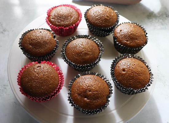cupcakes refroidis