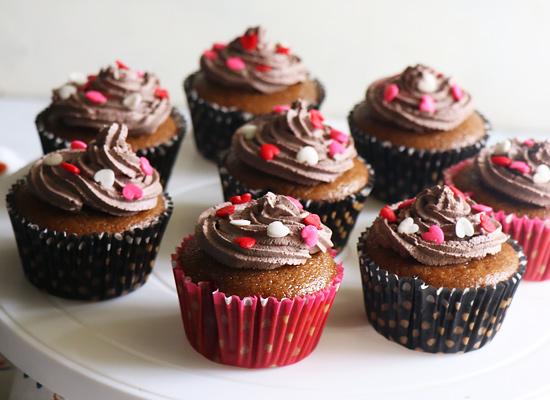 pipe les cupcakes