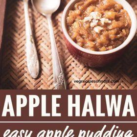 recette de halwa aux pommes