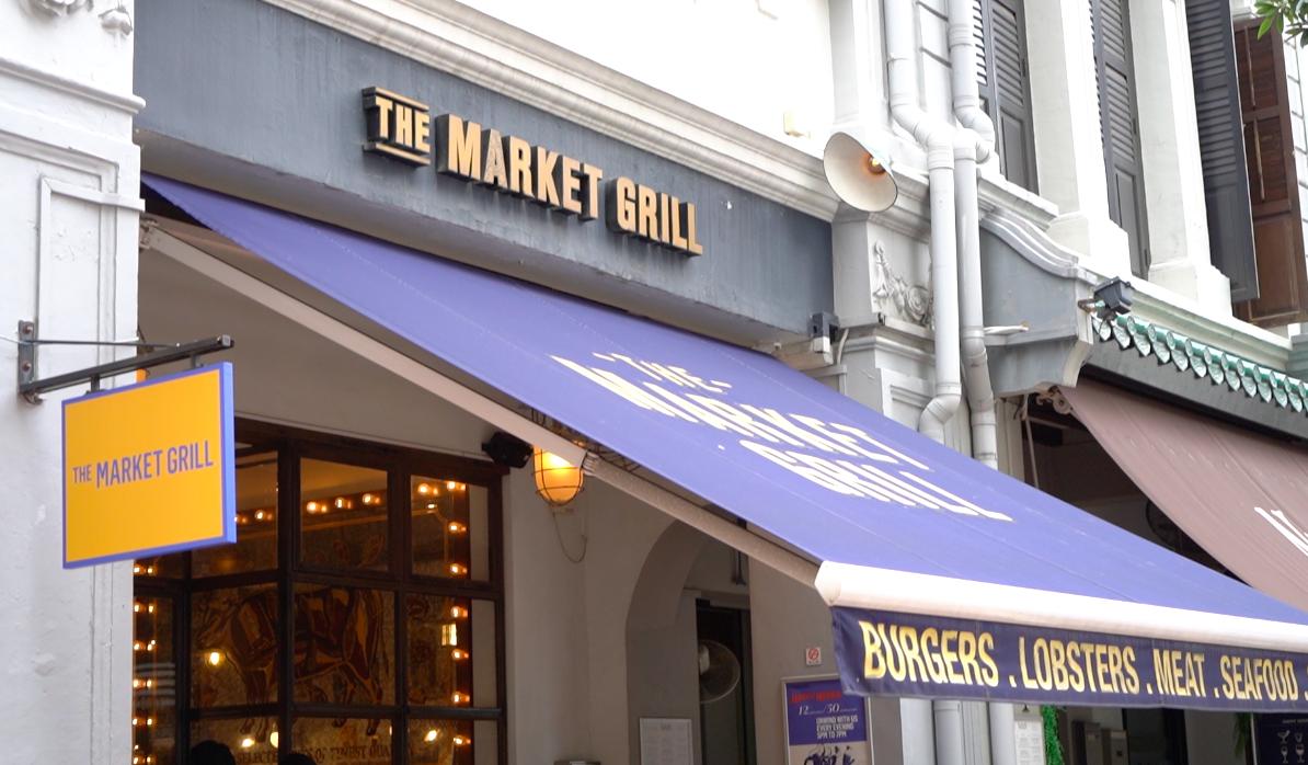 L'extérieur du Market Grill