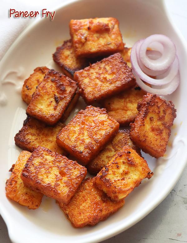 recette de frites de paneer