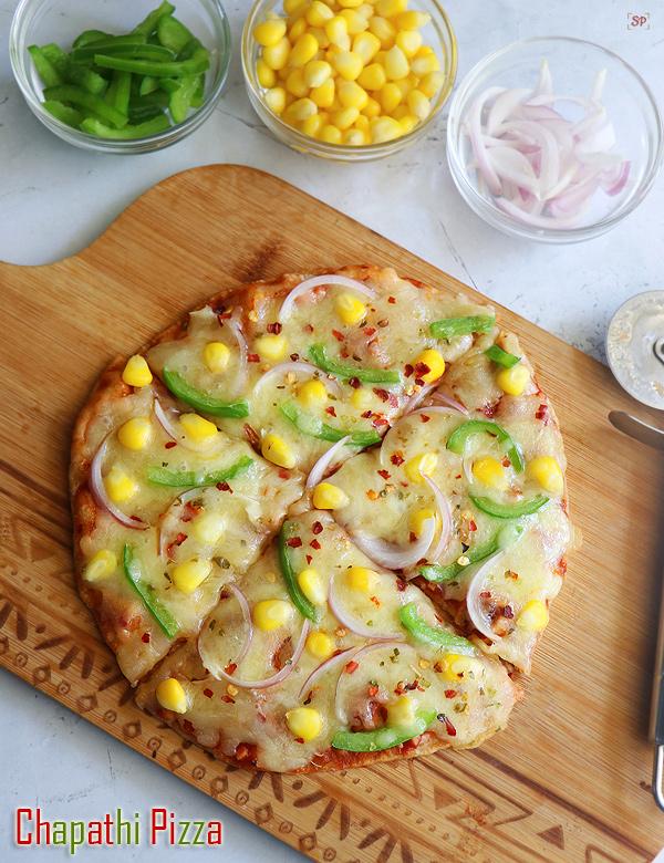 recette de pizza roti