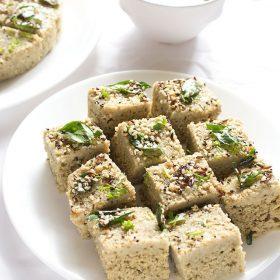 recette de dal dhokla, moong dal dhokla
