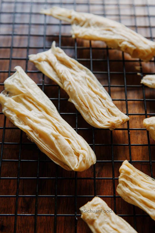 comment faire de la peau de tofu | chinasichuanfood.com