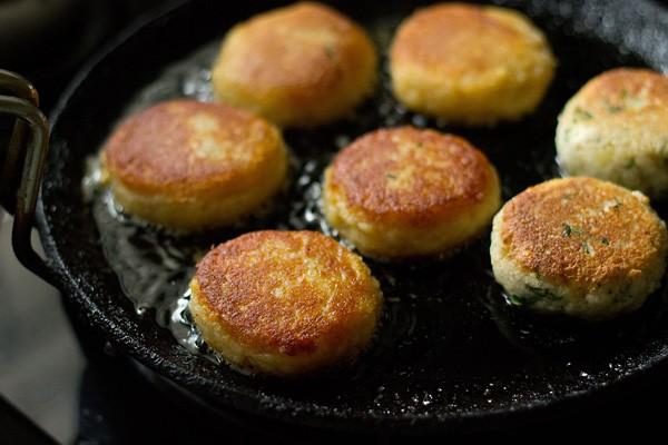 galettes de maïs dorées croustillantes