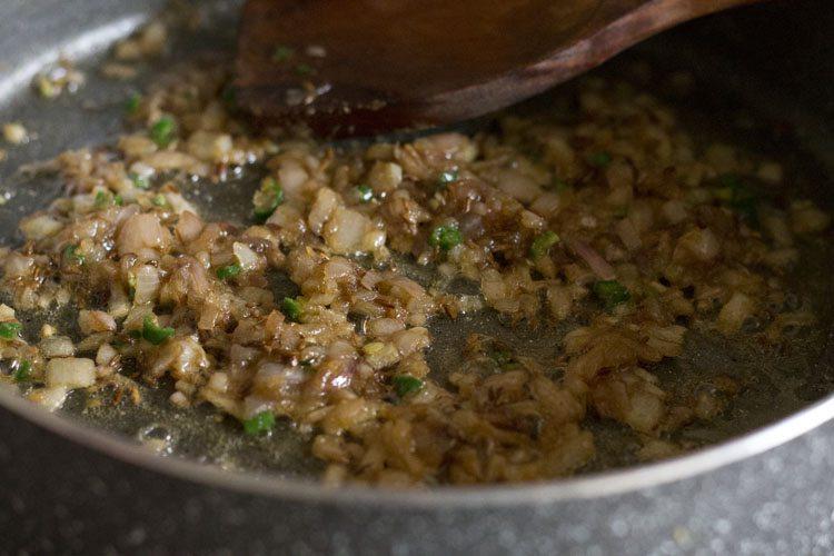 faire frire le piment vert