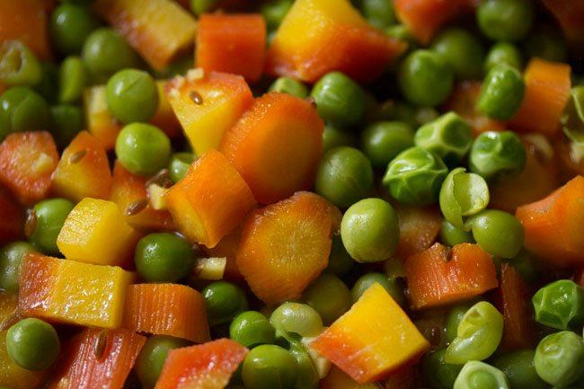 vérifier la cuisson des légumes