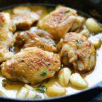Pétoncles crémeux à l'ail (faciles et délicieux!)